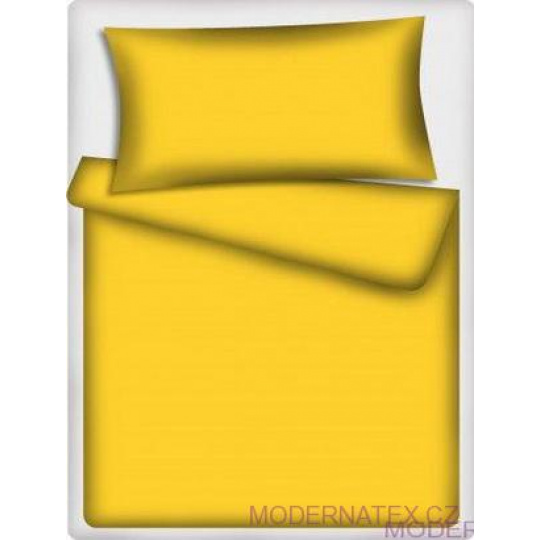 Tkanina Bawełniana Jednokolorowa Żółta