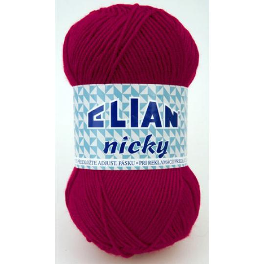 Włóczka Elian Nicky 5410 kolor fioletowy