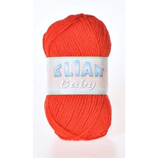 Włóczka Elian Baby 207 kolor czerwony
