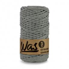 Sznurek bawełniany 3mm, 100m Ciemny szary