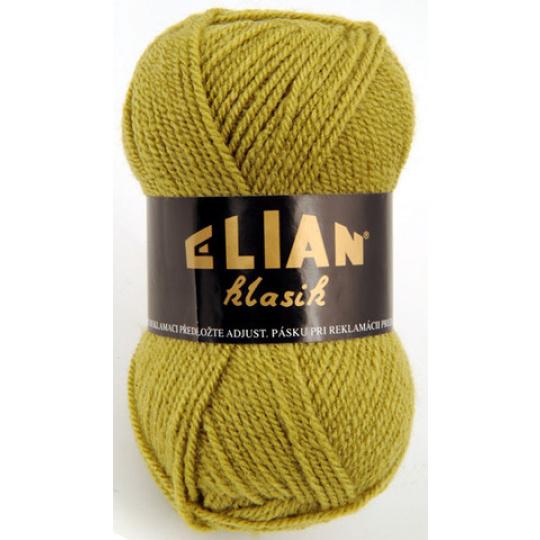Włoczka Elian Klasik 4156 kolor zielony