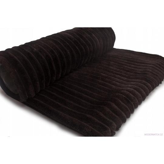 Minky paski w kolorze czarnym