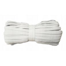 Gumka odzieżowa, szer. 15 mm - Biała, 25 m