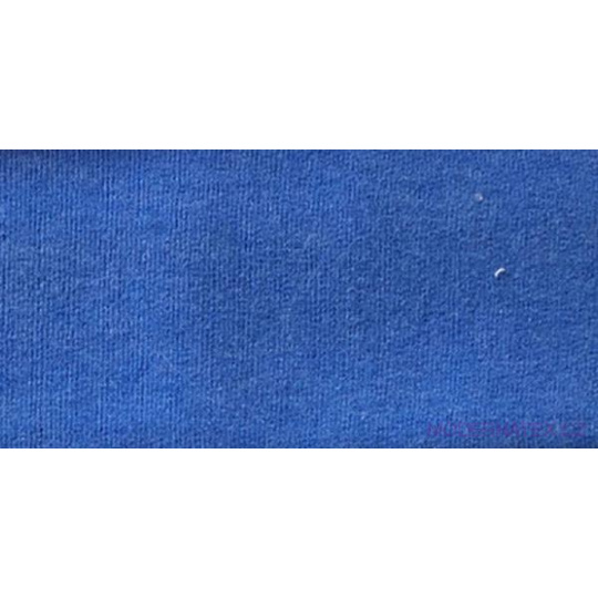 Dzianina Dresówka PREMIUM w kolorze niebieskim