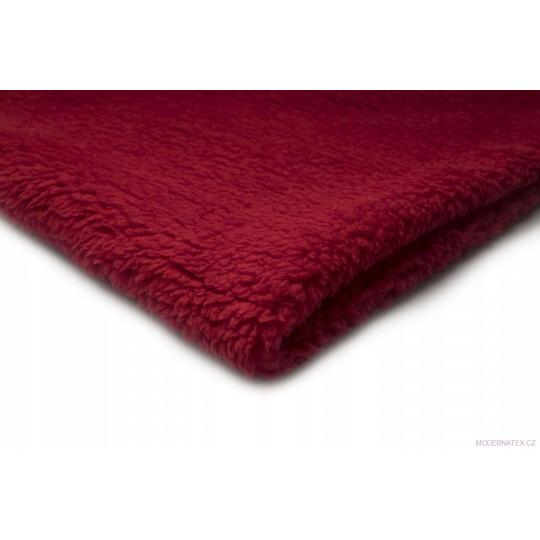 Minky Baranek w kolorze czerwonym