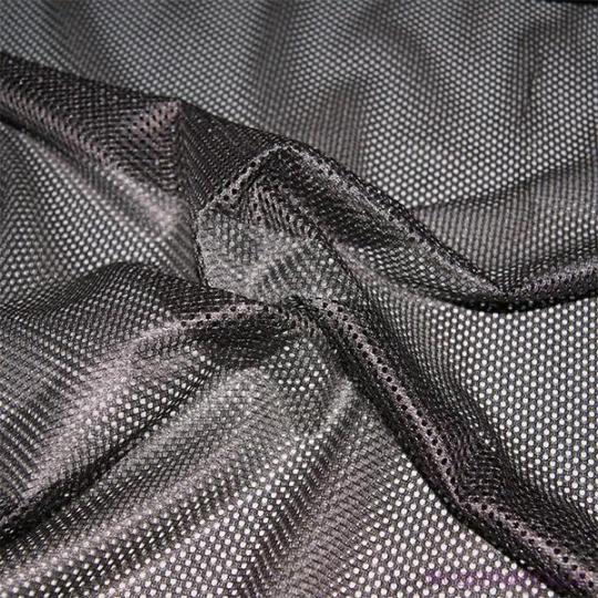 Elastyczna siatka poliestrowa szara, oczka 2x2 mm - DZ-008-143