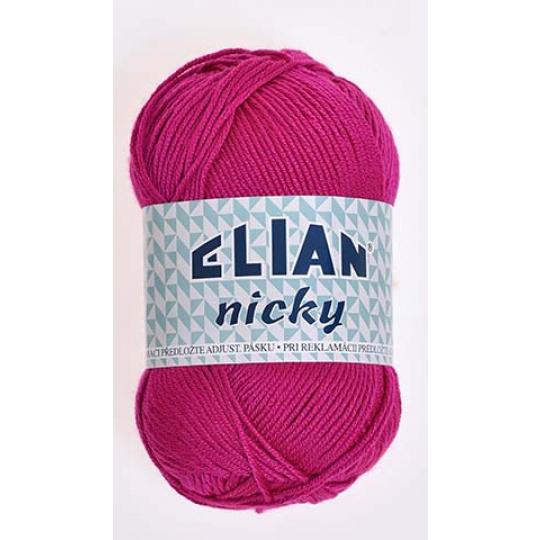 Włóczka Elian Nicky 6314 kolor fioletowy