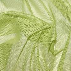 Polyesterová elastická síťovina barva zelená, oko 1x1 mm