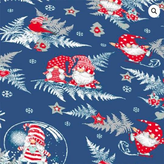 Świąteczna tkanina bawełniana wzór 1133-5