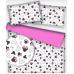 Tkanina bawełniana wzór Miki z różowymi kokardkami