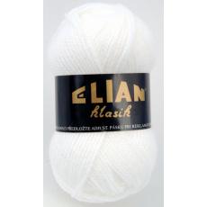 Włoczka Elian Klasik 208 kolor biały