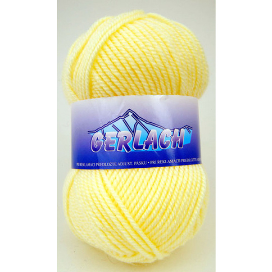 Włóczka Elian Gerlach 2098 kolor żółty